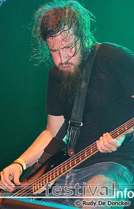Mastodon op Graspop Metal Meeting 2007 foto
