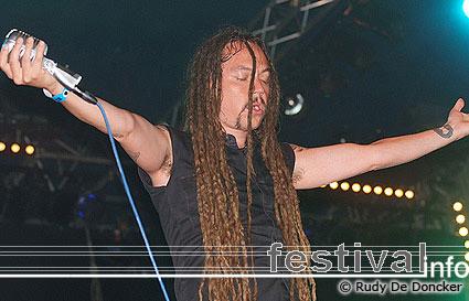 Amorphis op Graspop Metal Meeting 2007 foto
