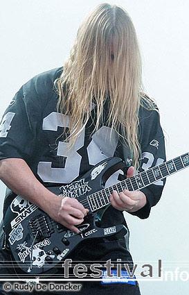 Slayer op Graspop Metal Meeting 2007 foto