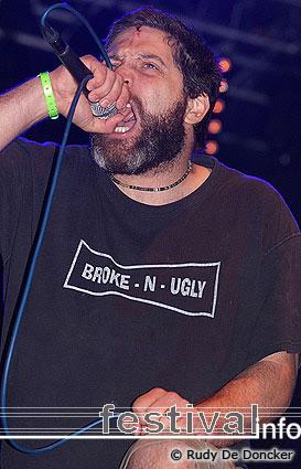 Brutal Truth op Graspop Metal Meeting 2007 foto