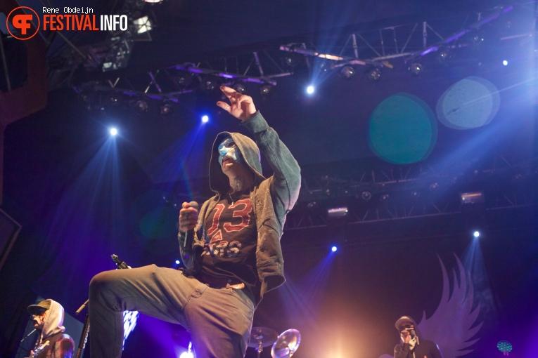 Hollywood Undead op Paaspop 2016 - Zondag foto