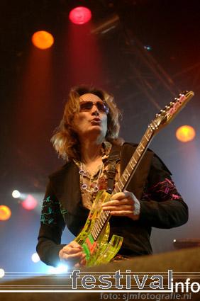Foto Steve Vai op Arrow Rock Festival 2007