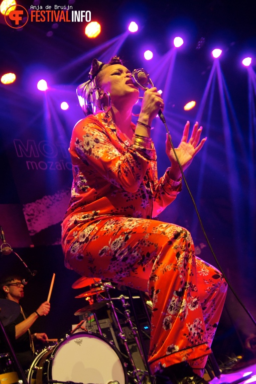 Andra Day op Motel Mozaique 2016 foto