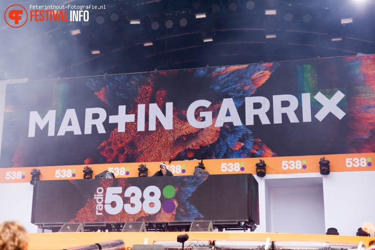 Martin Garrix op 538 Koningsdag 2016 foto
