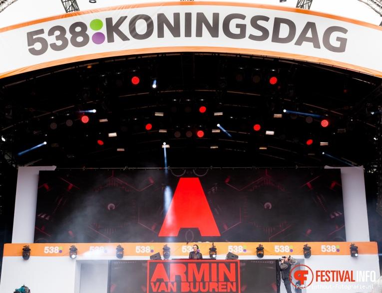 Armin van Buuren op 538 Koningsdag 2016 foto