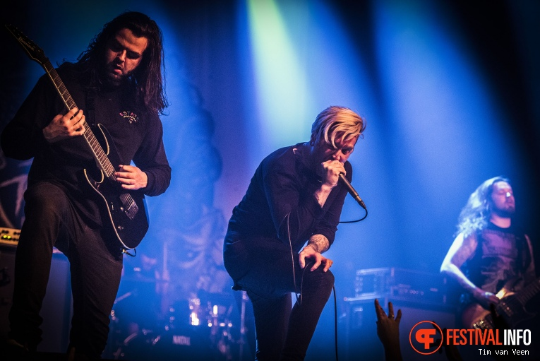 Foto Bury Tomorrow op Impericon Festival 2016