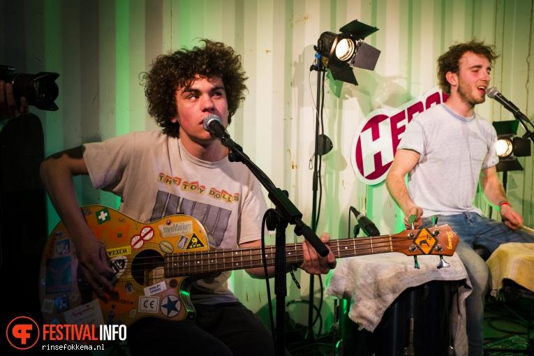 Foto Magnetic Spacemen op Bevrijdingsfestival Overijssel 2016