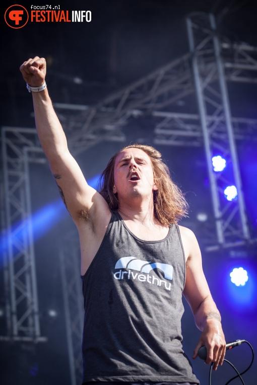John Coffey op Bevrijdingsfestival Overijssel 2016 foto