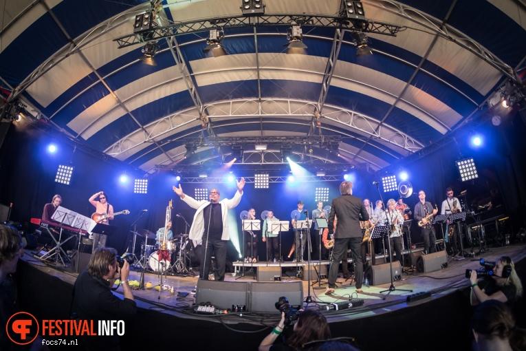 JazzArt Orchestra op Bevrijdingsfestival Overijssel 2016 foto
