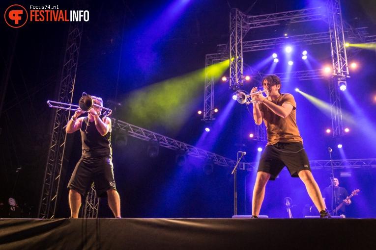 Manu Chao op Bevrijdingsfestival Overijssel 2016 foto