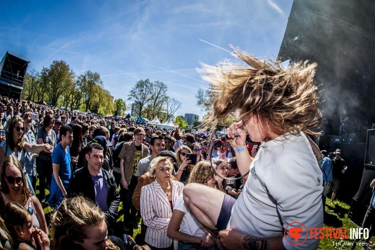 John Coffey op Bevrijdingsfestival Utrecht 2016 foto