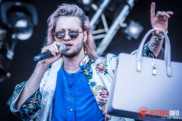 Foto Jett Rebel op Bevrijdingsfestival Utrecht 2016