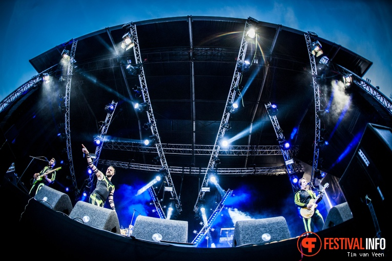 Memphis Maniacs op Bevrijdingsfestival Utrecht 2016 foto