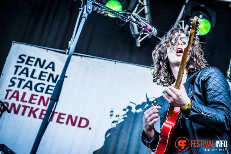 Lucas Hamming op Bevrijdingsfestival Utrecht 2016 foto