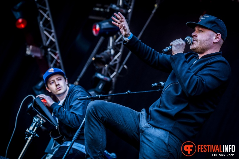 Dazzled Sticks op Bevrijdingsfestival Utrecht 2016 foto