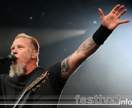 Foto Metallica op Rock Werchter 2007