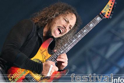 Metallica op Rock Werchter 2007 foto