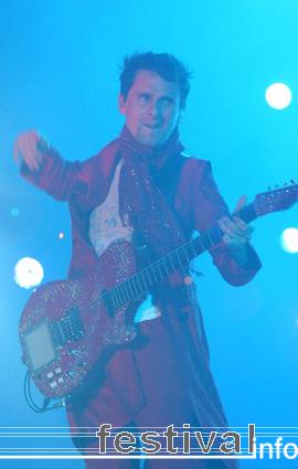 Muse op Rock Werchter 2007 foto