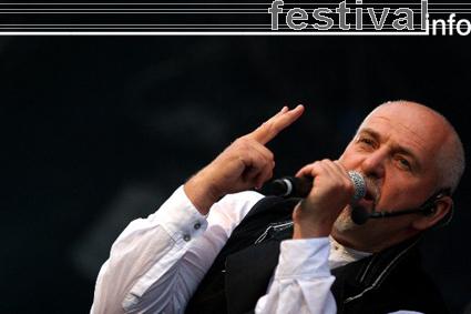Peter Gabriel op Rock Werchter 2007 foto