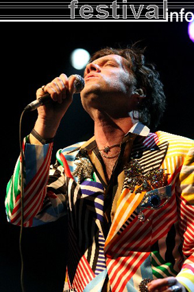 Rufus Wainwright op Rock Werchter 2007 foto