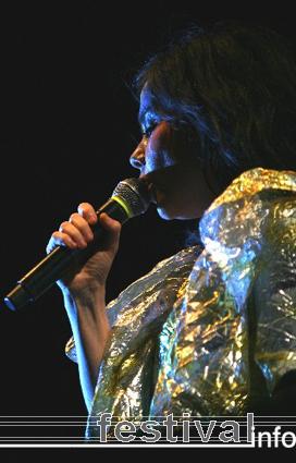 Björk op Rock Werchter 2007 foto