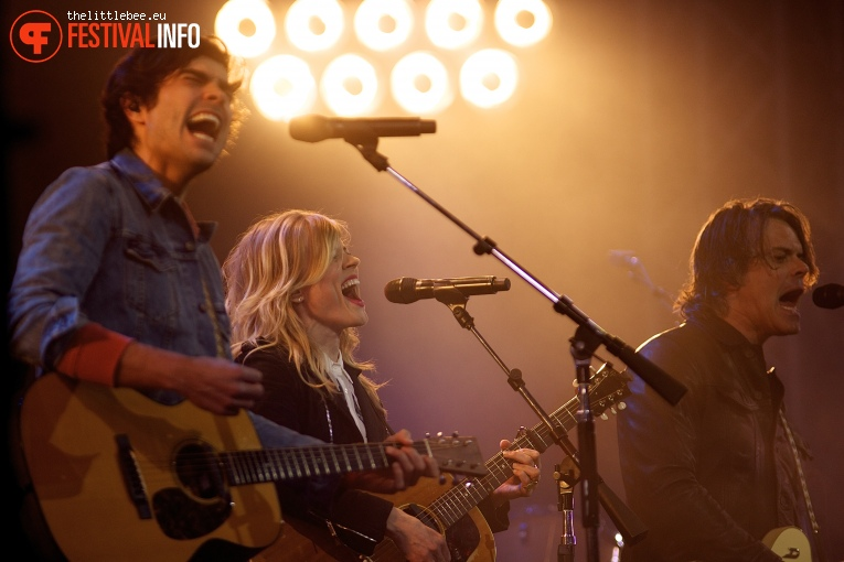 The Common Linnets op Ribs & Blues 2016 foto