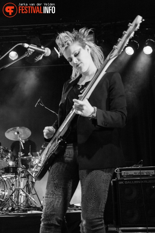 Lene Lovich Band op Wave Gotik Treffen 2016 foto