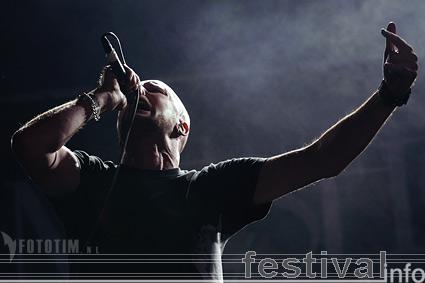 Meshuggah op Waldrock 2007 foto