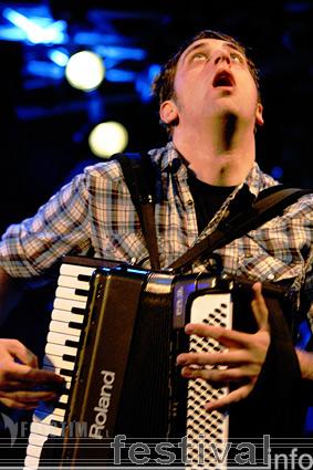 Dropkick Murphys op Waldrock 2007 foto