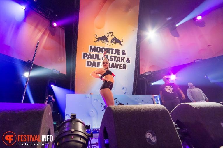 Foto DJ Paul Elstak op Red Bull Culture Clash 2016