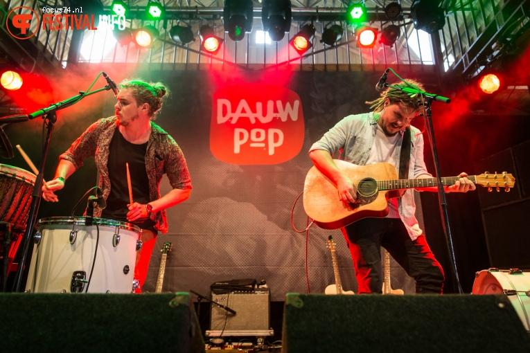Pierce Brothers op Dauwpop 2016 foto
