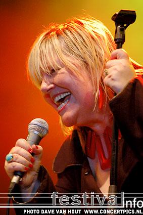 Connie Lush op Bospop 2007 foto