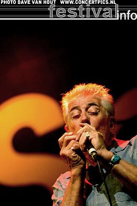 John Mayall op Bospop 2007 foto