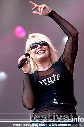 Kim Wilde op Bospop 2007 foto