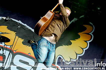 Angelo Kelly op Bospop 2007 foto