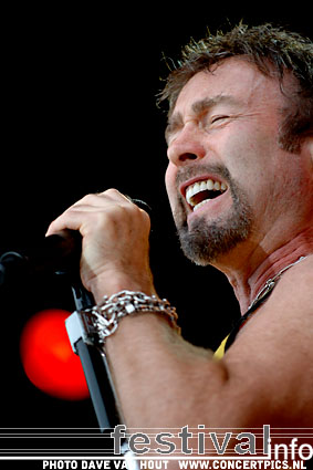 Paul Rodgers op Bospop 2007 foto