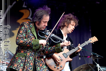 Foto The Waterboys op Bospop 2007