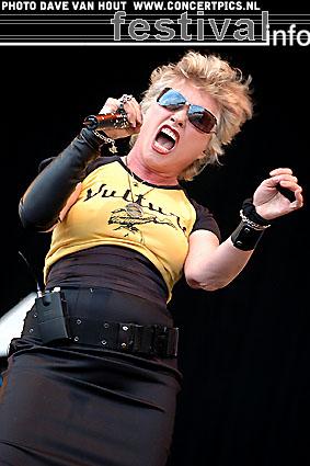 Foto Blondie op Bospop 2007
