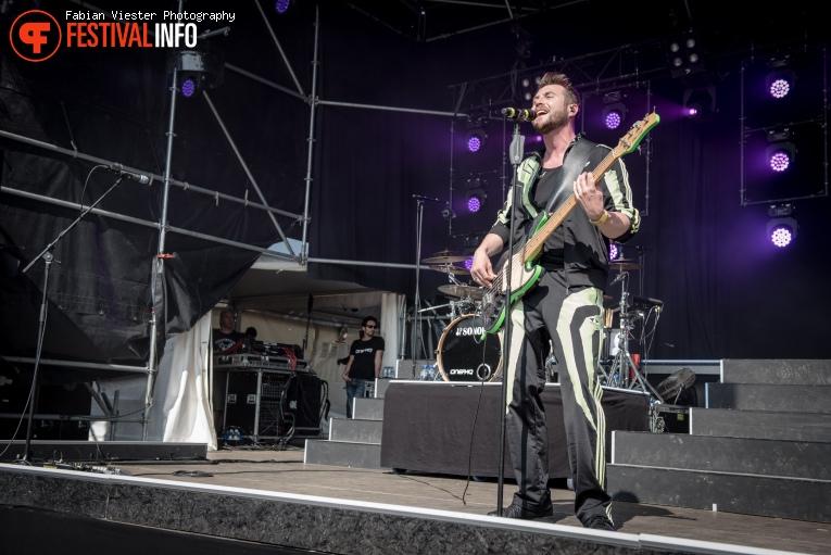 Memphis Maniacs op Pop on Top 2016 foto