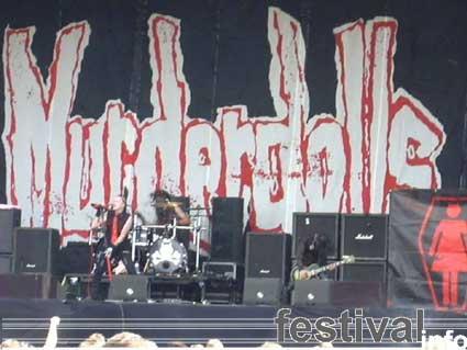 Murderdolls op Waldrock 2003 foto