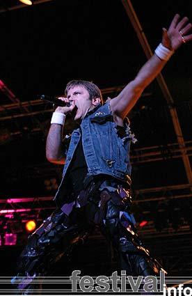 Iron Maiden op Waldrock 2003 foto