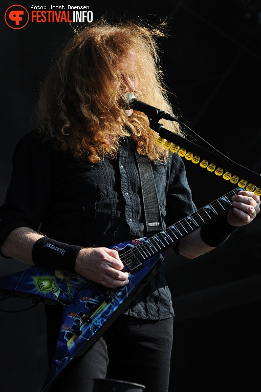 Megadeth op Fortarock 2016-Zondag foto