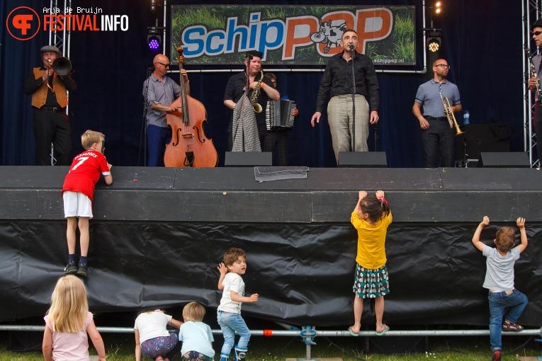 Foto Amsterdam Klezmer Band op Schippop 2016