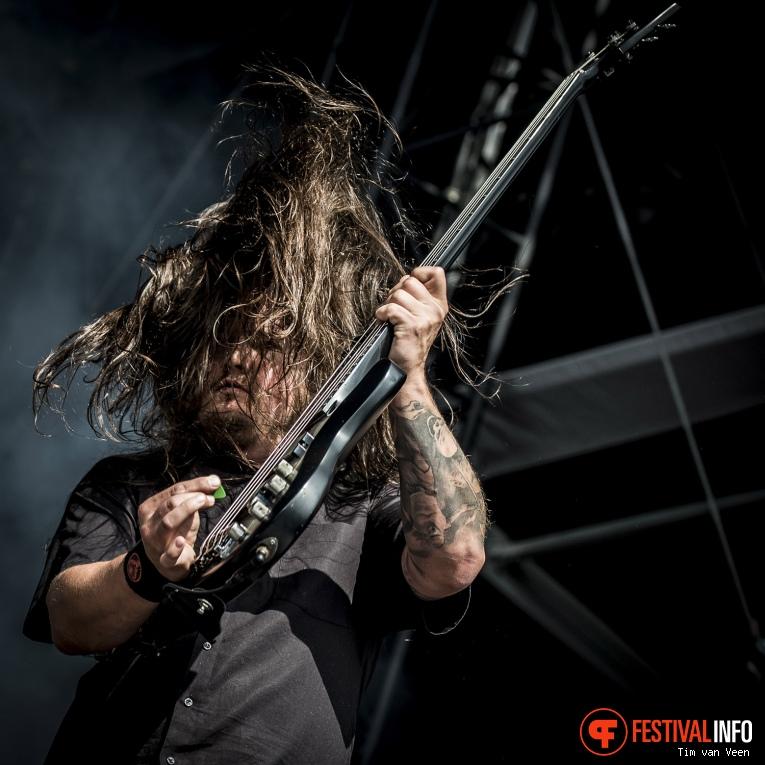 Heaven Shall Burn op Graspop Metal Meeting 2016, dag 1 foto