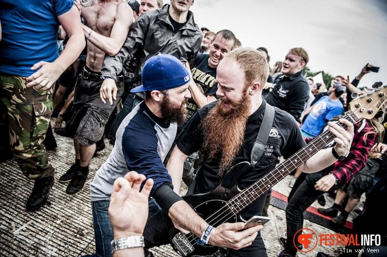 Atreyu op Graspop Metal Meeting 2016, dag 1 foto