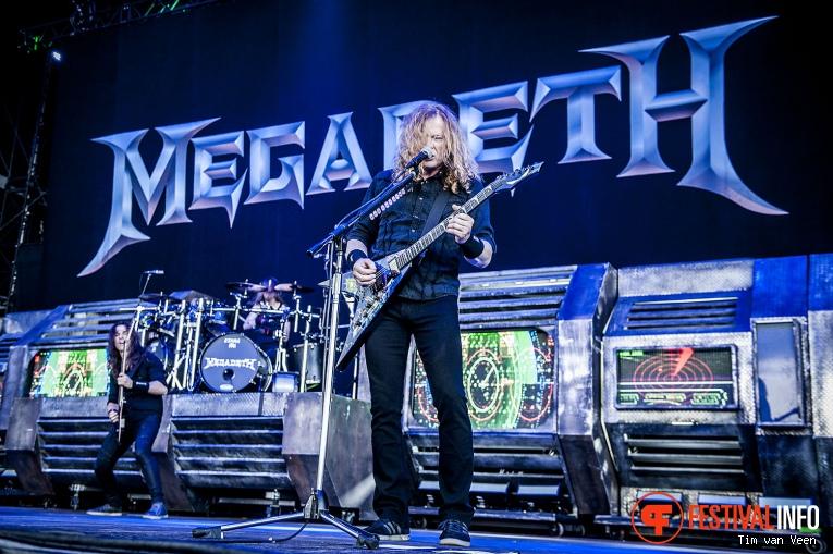 Megadeth op Graspop Metal Meeting 2016, dag 1 foto