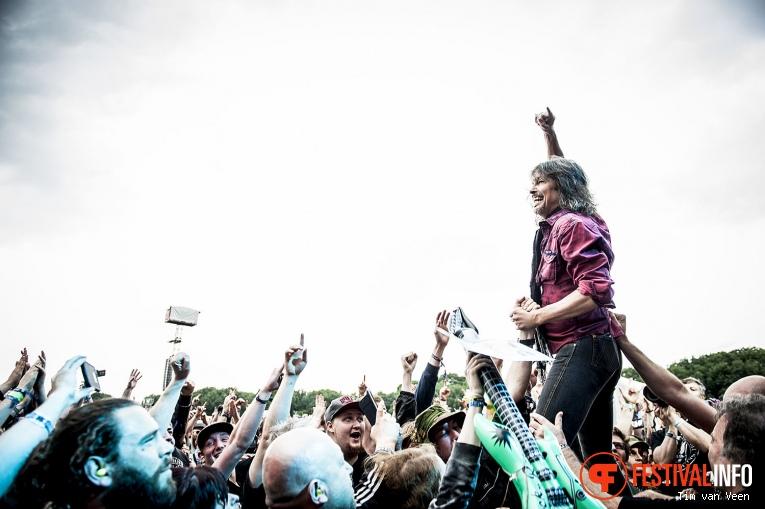 Foreigner op Graspop Metal Meeting 2016, dag 1 foto