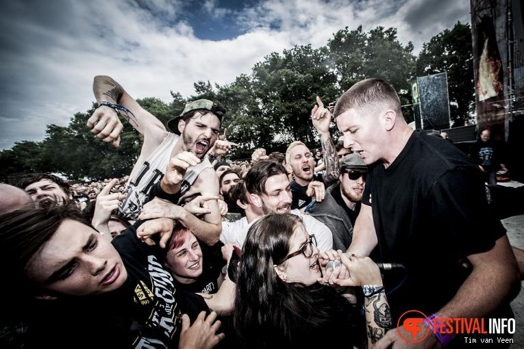 Turnstile op Graspop Metal Meeting 2016, dag 1 foto