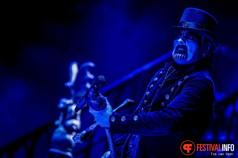 Foto King Diamond op Graspop Metal Meeting 2016, dag 1