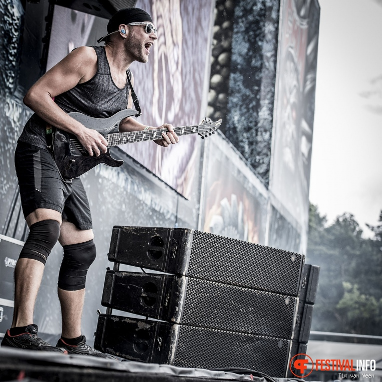 Foto Killswitch Engage op Graspop Metal Meeting 2016 dag 2